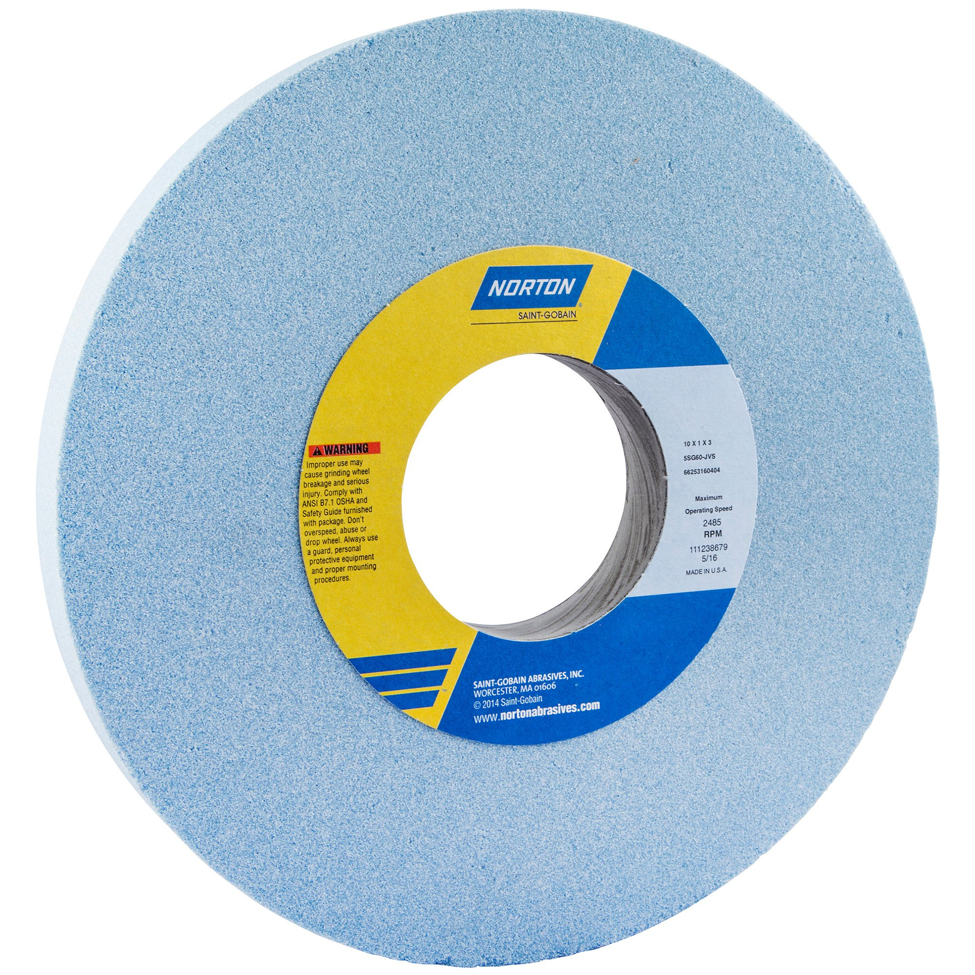 Norton 66253160404 Surface Grinding Wheels Size 10 x 1 x 3
