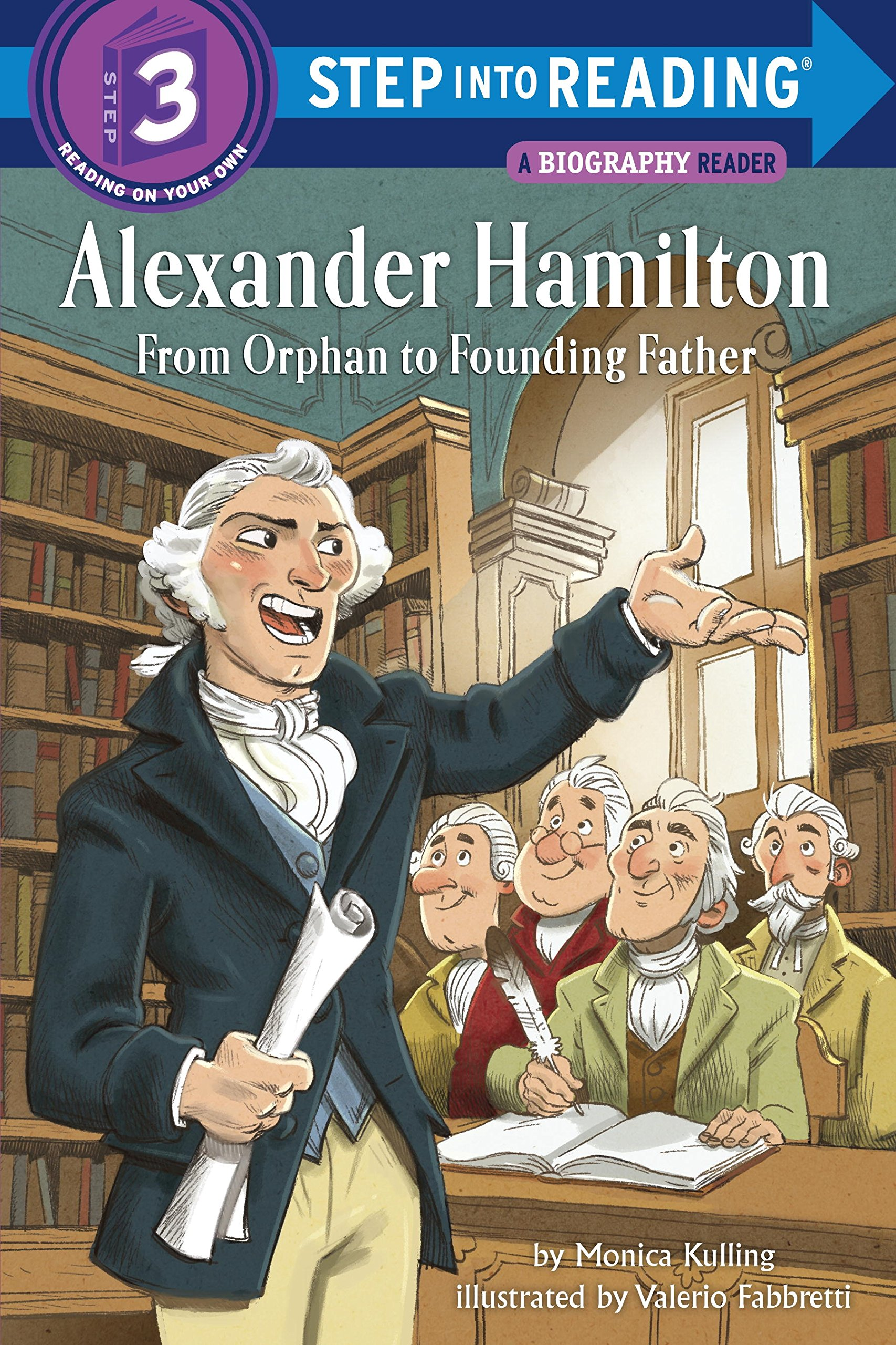 Alexander Hamilton Orphan Founding Reading product image
