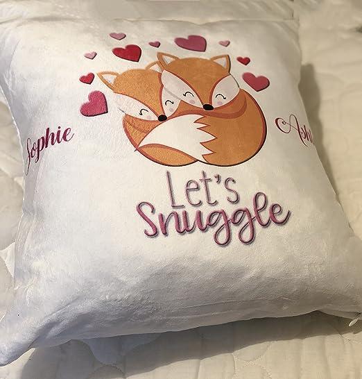 Personalizado de San Valentín Let s Snuggle - Carcasa con ...