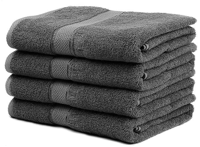 Amazoncom Ariv Collection Premium Bamboo Cotton Bath Towels