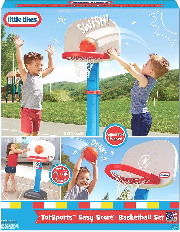 little tikes - Juguete de Baloncesto (620836): Little Tikes - 620836 - Jeu de Plein Air - Mon Premier Panier de Basket: Amazon.es: Juguetes y juegos