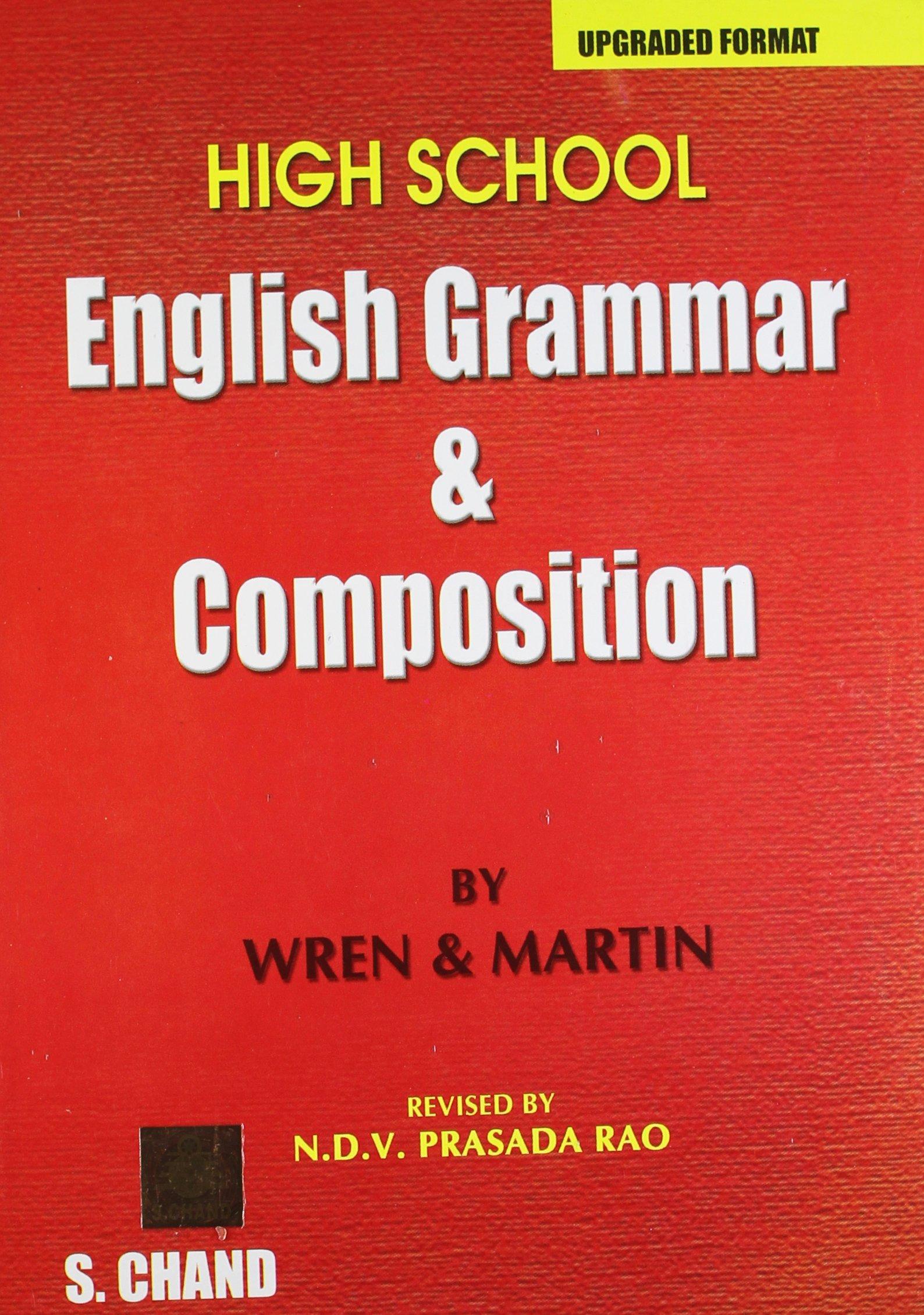 High School English Grammar & Composition pdf
