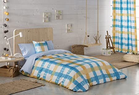 FUNDA Nordica Tables Blue 105 x 200 cm Blue: Amazon.co.uk: Kitchen