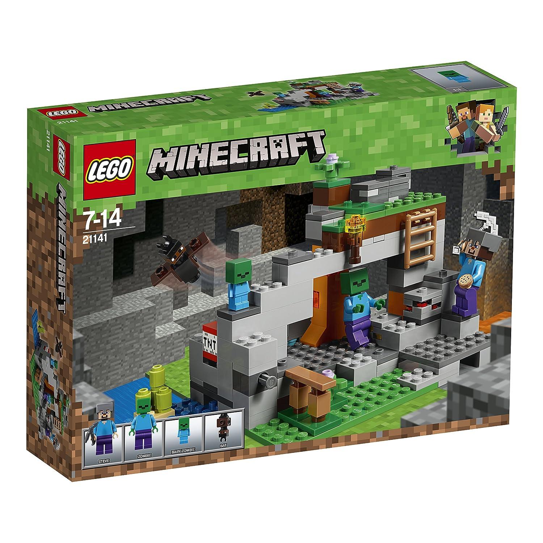 LEGO Minecraft Zombiehöhle Beliebtes Kinderspielzeug - Minecraft spiele mit zombies