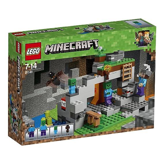 LEGO Minecraft Zombiehöhle Beliebtes Kinderspielzeug - Lego minecraft spiele deutsch