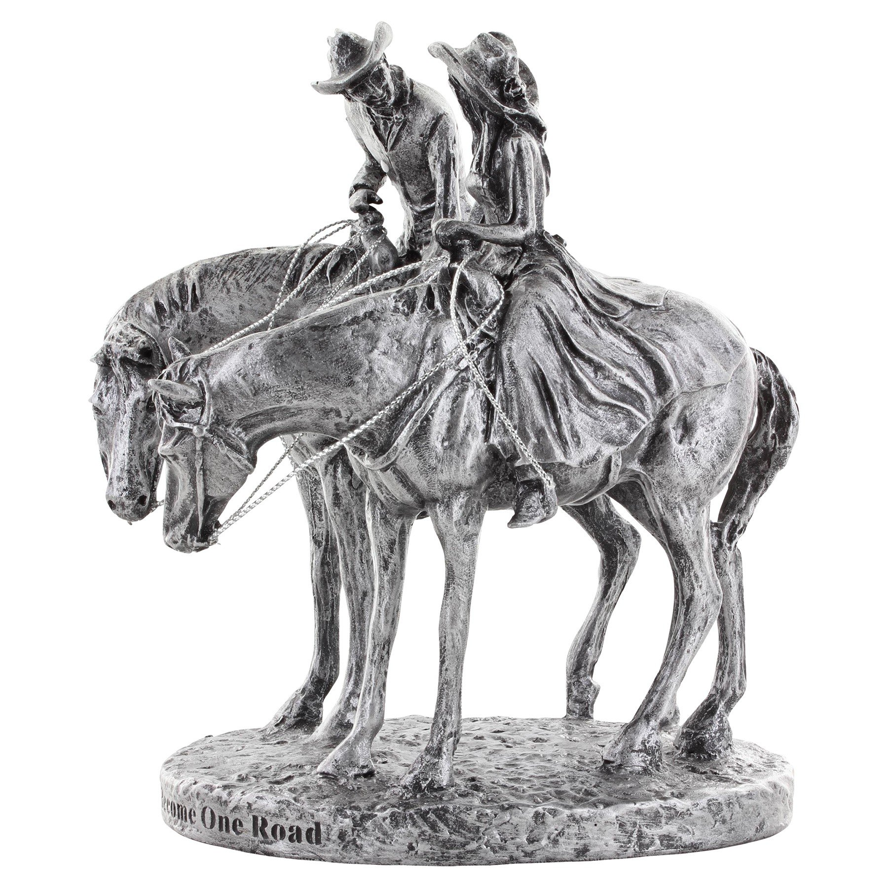 Montana Silversmiths Two Trails Become One Cake Topper