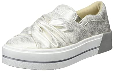 XTI Damen 48026 Slip on Sneaker, Gold, 38 EU