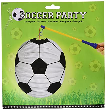 Creative Party Laterne Fussball