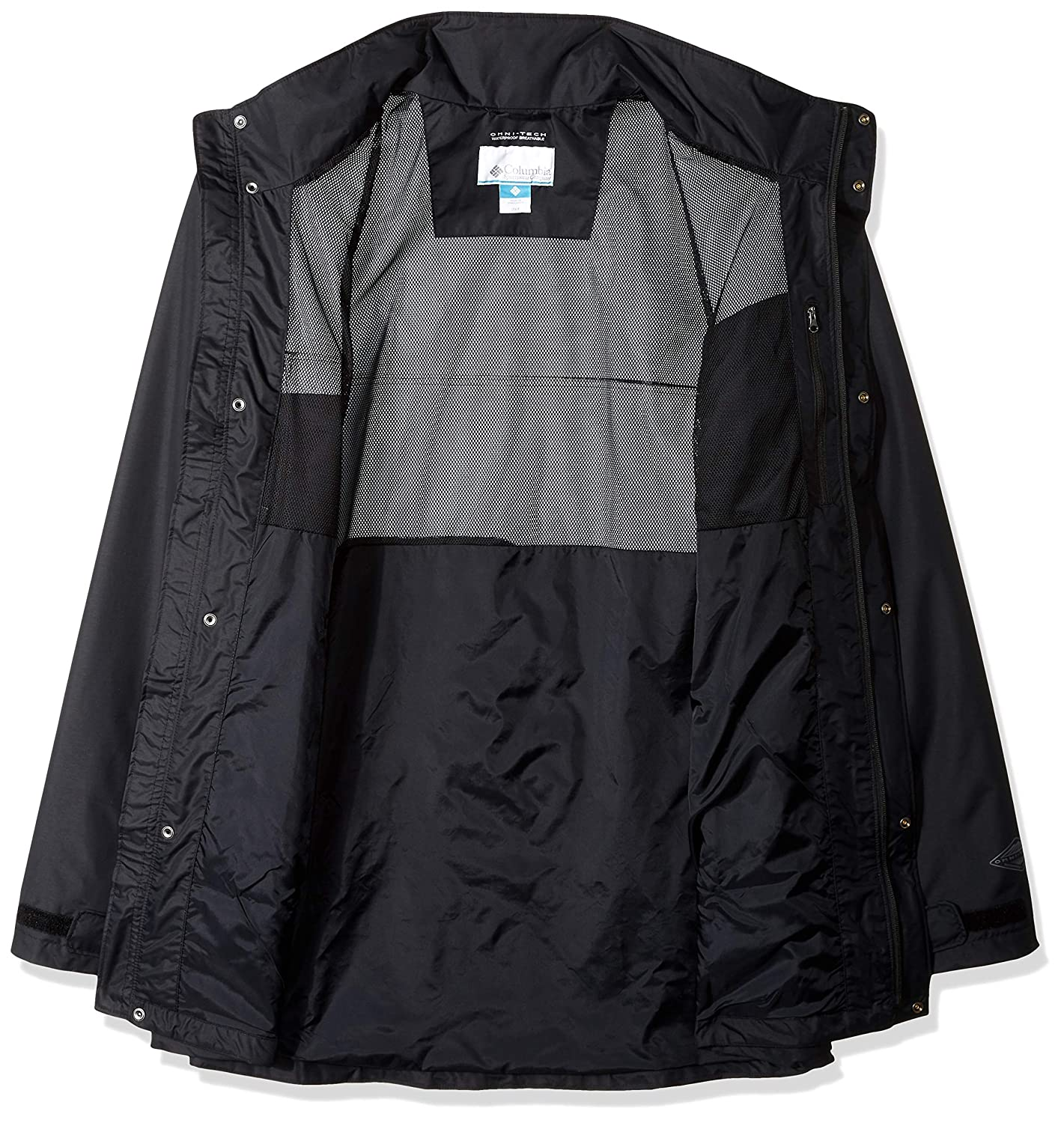 Amazon.com: Columbia Dr. DownPour II - Chaqueta impermeable ...