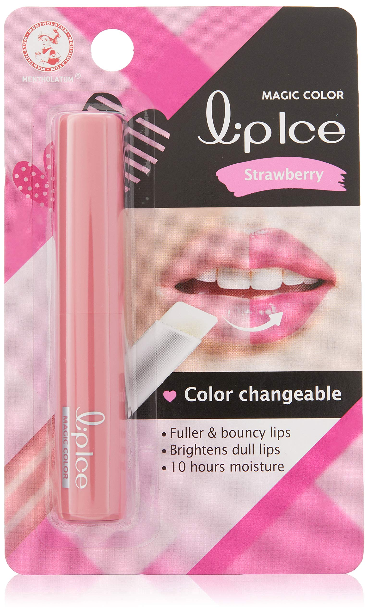 Mentholatum Lip Ice Sheer Color Strawberry