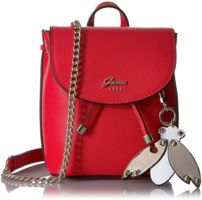 GUESS Borsa Donna BM696781/RED, Varsity Pop Mini Pin Up ...