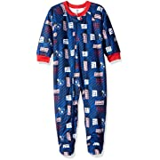 NFL New York Giants Unisex-Baby Blanket Sleeper, Blue, 12 Months