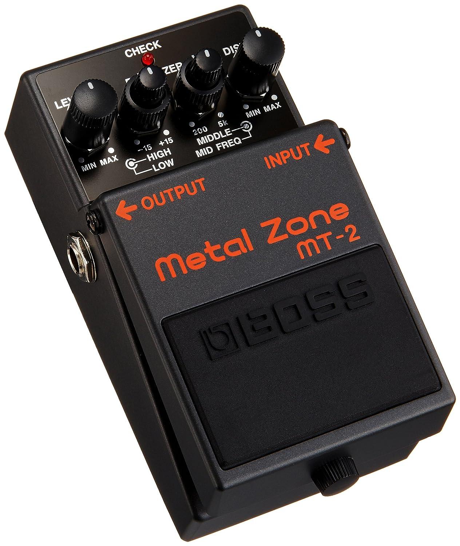 Boss Mt 2 Metal Zone Distortion Guitar Pedal Musical Efek Gitar Pro Instruments