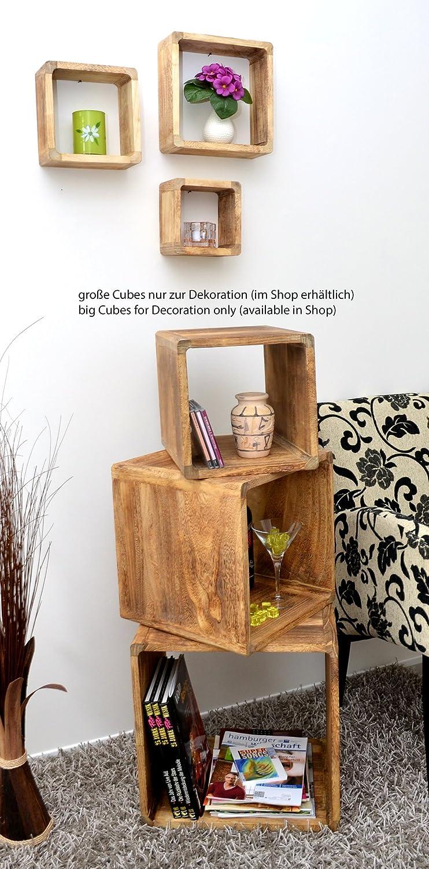 3er Set Lounge Cube Regal Landhaus Stil Wandregal Hängeregal ...