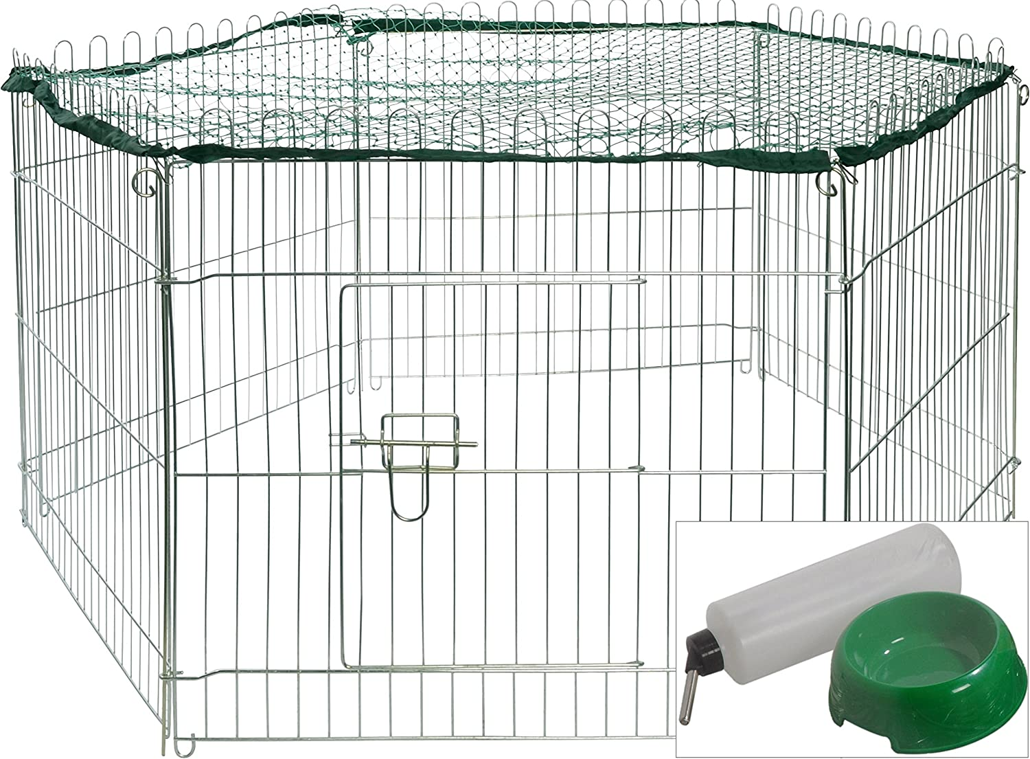 dobar Metal Outdoor Run Nylon Net, Various Sizes and Colours, Plus Accessories