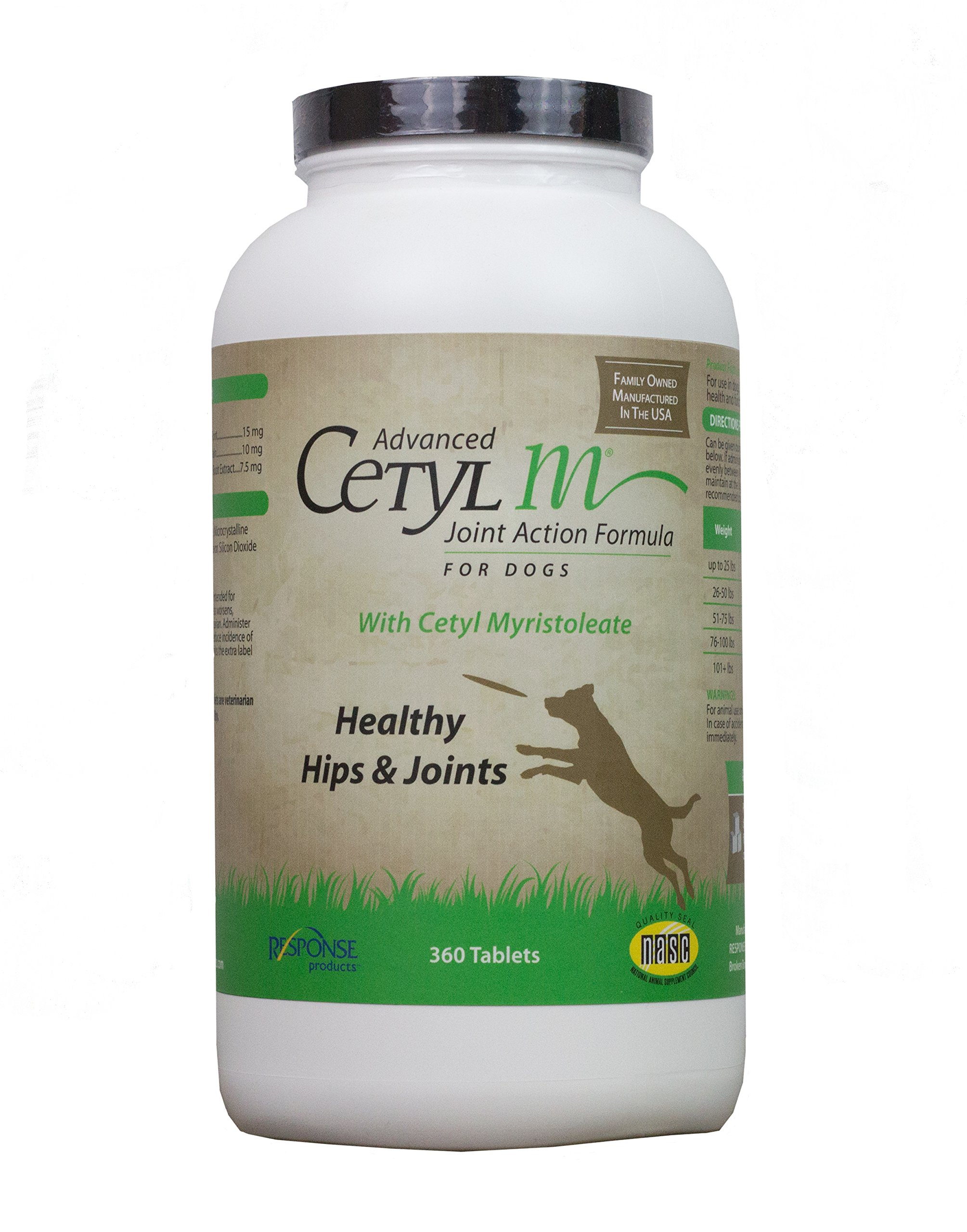 Response 360 Count Cetyl M Joint Health Formula for Dogs..