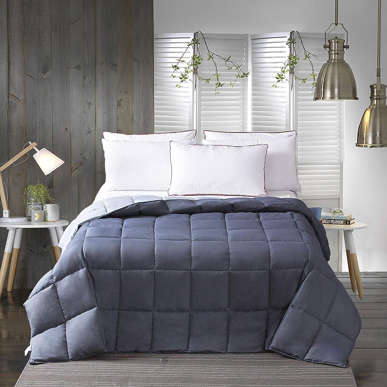 Ultra Soft Down Alternative Lightweight Comforter White, King - All Season