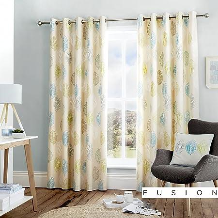66 Width x 72 Drop Dreams /& Drapes Lilac Kew Lined Eyelet Curtains 168 x 183cm