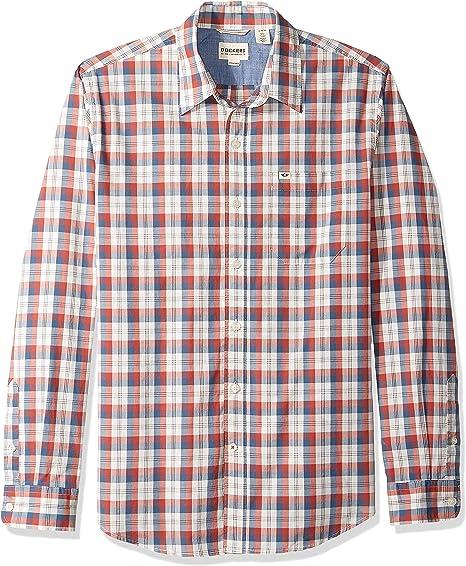 Dockers Mens Long Sleeve Original Washed Shirt: Amazon.es: Ropa y accesorios