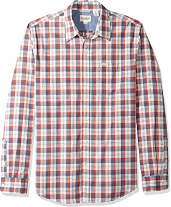 Dockers Camiseta de manga larga Supreme Flex con botones para hombre