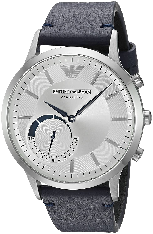 Emporio Armani Connected Hybrid Smartwatch Mens Art3003 ...