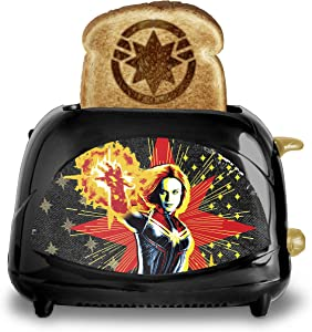 Captain Marvel 2-Slice Toaster- Mavel's Galactic Hero on Your Toast