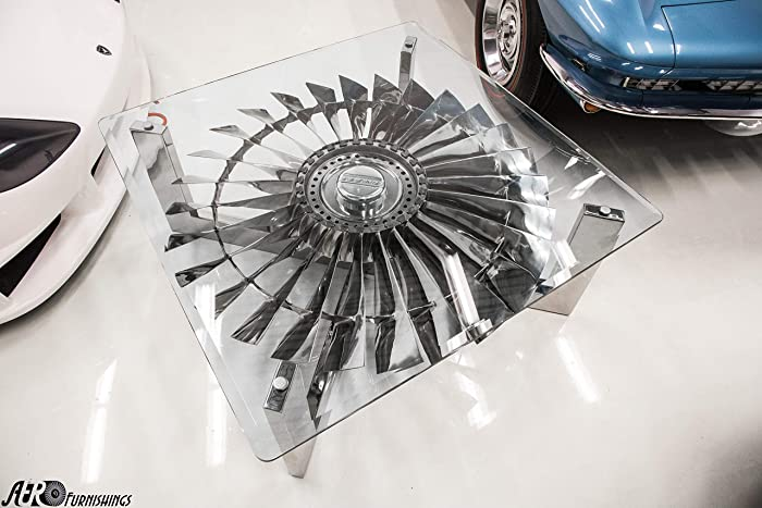 Exceptional Boeing 737 Jet Engine Coffee Table Pratt U0026 Whitney JT8D.