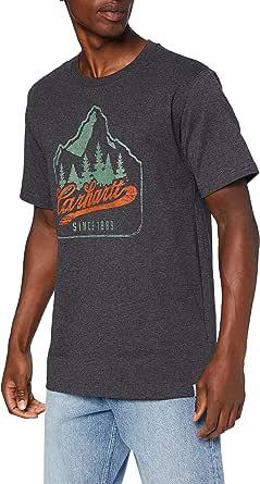 Carhartt Patch Logo Short-Sleeve T-Shirt Camiseta para Hombre