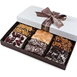 Gourmet Chocolate Biscotti Gift Basket for Him Her Man Woman Unique Corporate Get Well Thanksgiving Christmas Holiday Birthday Baskets Gifts Idea