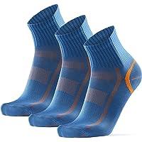 DANISH ENDURANCE Kwart Hardloopsokken voor Heren en Dames, 3 of 5-Pak, Prestaties, Hardlopen, Sport, Fitness, Gym…