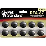 Piles Compatible PetSafe RFA-67 (Lot de 10)