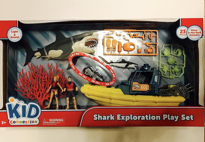 Kid Connection Shark Exploration Set