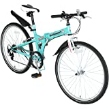 Switzsport-Tech(スウィツスポート-テック) SIERRE-II〔シエルII〕 クロスバイクタイプ26インチ折りたたみ自転車 〔SHIMANO Tourney 7段変速〕 MDL31014