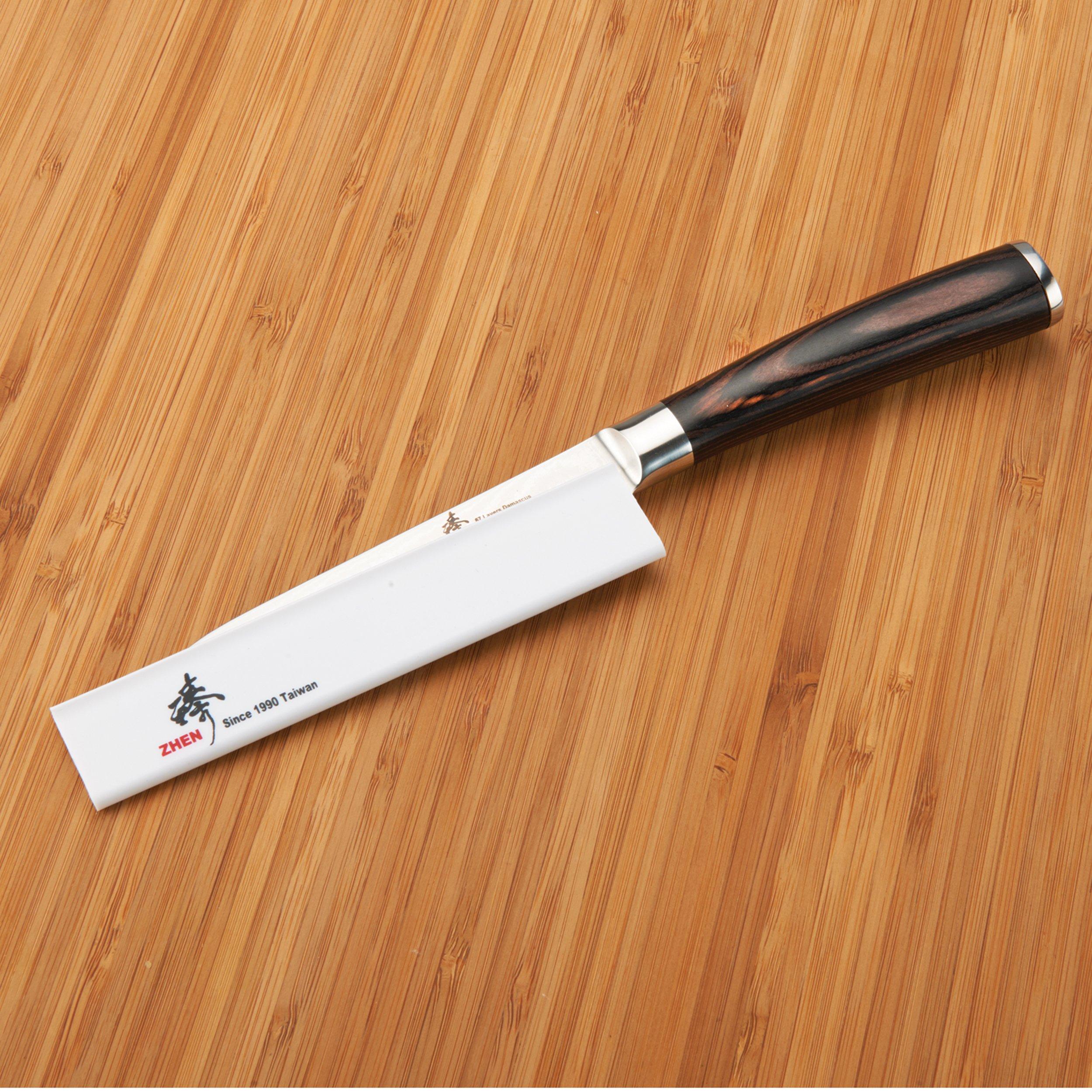 Zhen Kitchen Knife Cover, 3.8 cm x 21 cm (1-1/2'' x 8-1/4'') by ZHEN (Image #2)