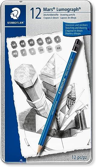 Artist Drawing Pencil NEW 6 STAEDTLER PENCILS HB B 2B 3B 4B H 2H 3H 4H F