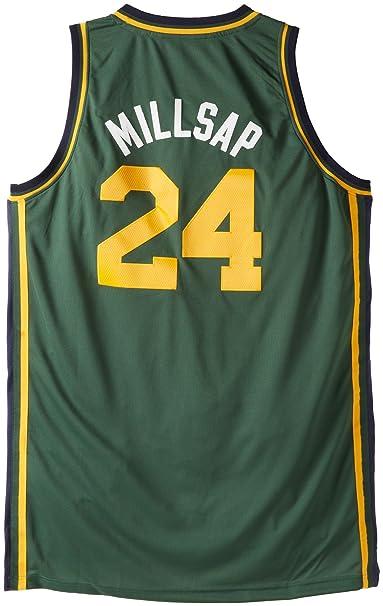 timeless design 5ec53 6a988 Amazon.com : NBA Utah Jazz Swingman Jersey Paul Millsap #24 ...