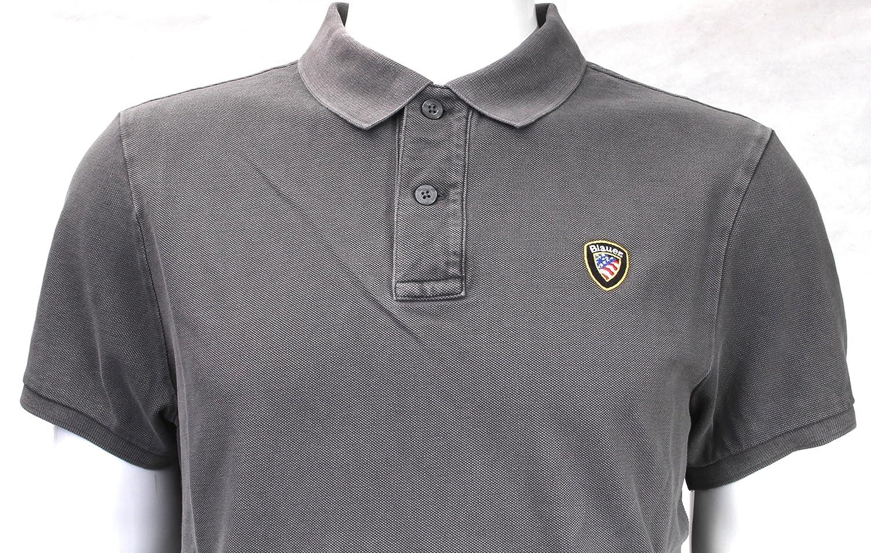 BLAUER U - Camiseta - para hombre gris topo L: Amazon.es: Ropa y ...