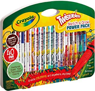 Crayola Twistables Sketch and Draw Power Pack by Crayola: Amazon ...