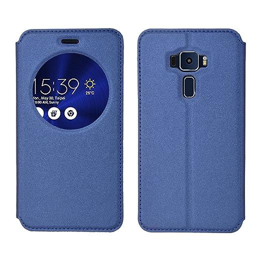 37 opinioni per ELTD Asus Zenfone 3 ZE520KL 5.2 Flip Cover, Super Slim Perfect Fit Premium Hard