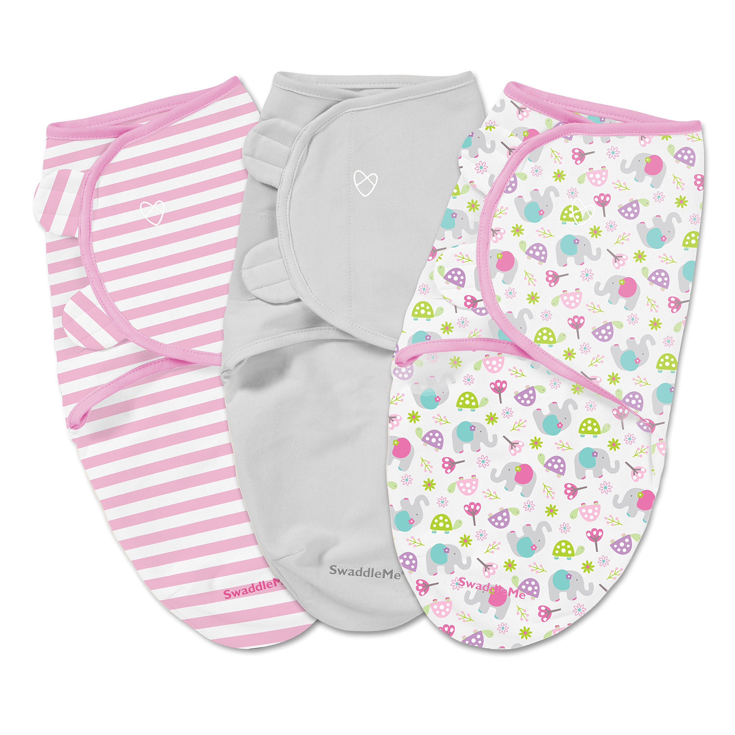SwaddleMe Original Swaddle 3-PK, Ellie Flower (SM)