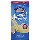Blue Diamond Almond Breeze - Unsweetened Vanilla - 32 oz