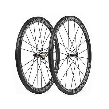 VCYCLE Nopea Frente 40mm Trasero 45mm Fibra de Carbono Carretera Ruedas 700C Bicicleta Ruedas Remachador 25mm