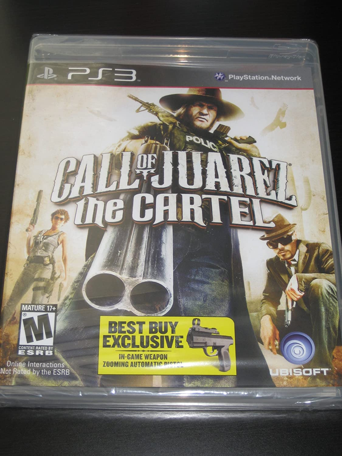 Amazon.com: Call of Juarez: The Cartel Best Buy Exclusive w ...
