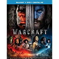 Deals on Warcraft Blu-ray + DVD + Digital HD