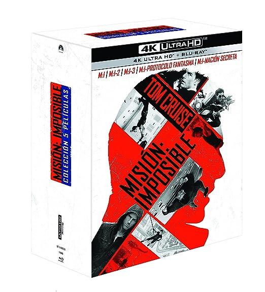 Misión Imposible 1-5 (4K UHD + BD) [Blu-ray]: Amazon.es: Tom ...