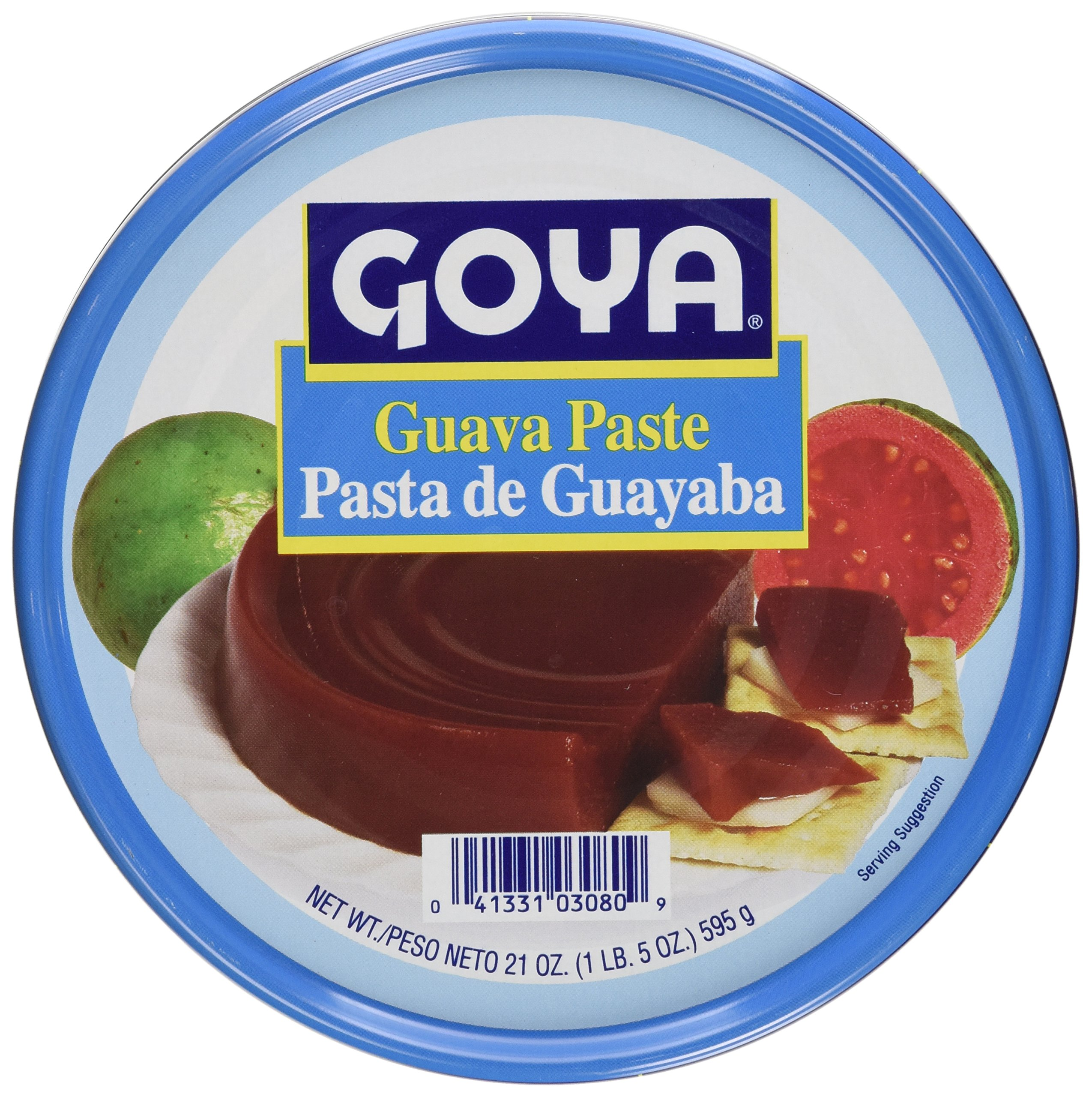 Goya Guava Paste 21 Ounce Can Pasta de Guayaba (2 Pack) by Goya