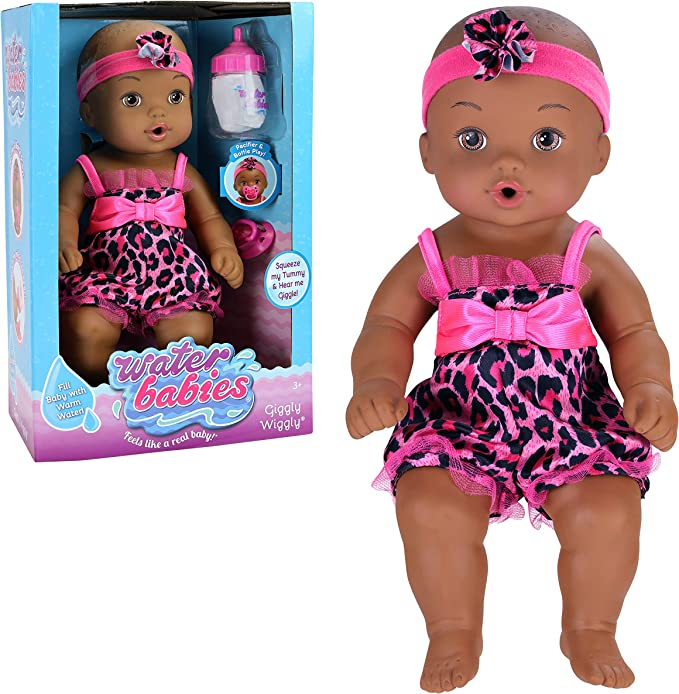Waterbabies Giggly Wiggly Pink Safari Doll