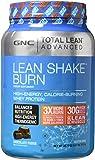 GNC Advanced Lean Shake Burn Protein Powder, Chocolate, 1.64 Pound