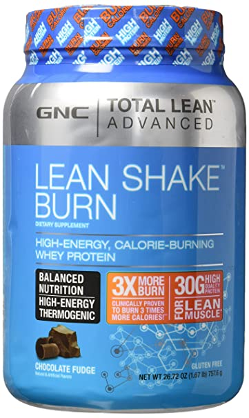 AmazonCom Gnc Advanced Lean Shake Burn Protein Powder Chocolate
