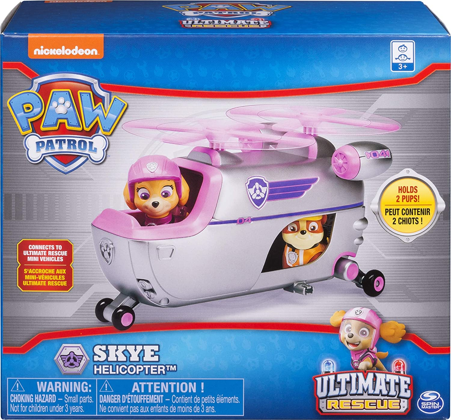 Skye's Ultimate Rescue Helicopter Vehicle /& Figure Paw Patrol Ultimate Rescue